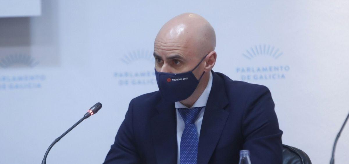 José Flores Arias, gerente del Servicio Gallego de Salud (Sergas). (Foto. Xunta)