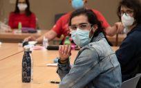 Opositores MIR y de otras titulaciones sanitarias en los exámenes de FSE. (Foto. Miguel Ángel Escobar / ConSalud.es)