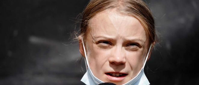 La activista sueca Greta Thunberg (Foto. Kay Nietfeld   dpa)