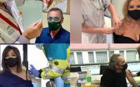 Famosos españoles vacunados AstraZeneca