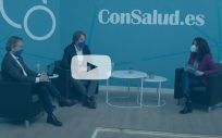 Entrevista en el plató de ConSalud TV a Ángel Bajils y Jesús Beristain, consejeros delegados de Air Liquide Healthcare España
