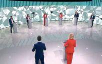 Debate entre los seis principales candidatos a la presidencia de la Comunidad de Madrid (Foto: TeleMadrid)
