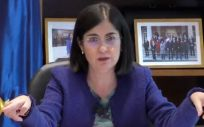 Carolina Darias, ministra de Sanidad (Foto: @sanidadgob)