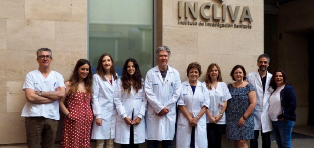 Grupo de Investigación y Divulgación en Enfermedades Raras Respiratorias, de Incliva (Foto. Incliva)