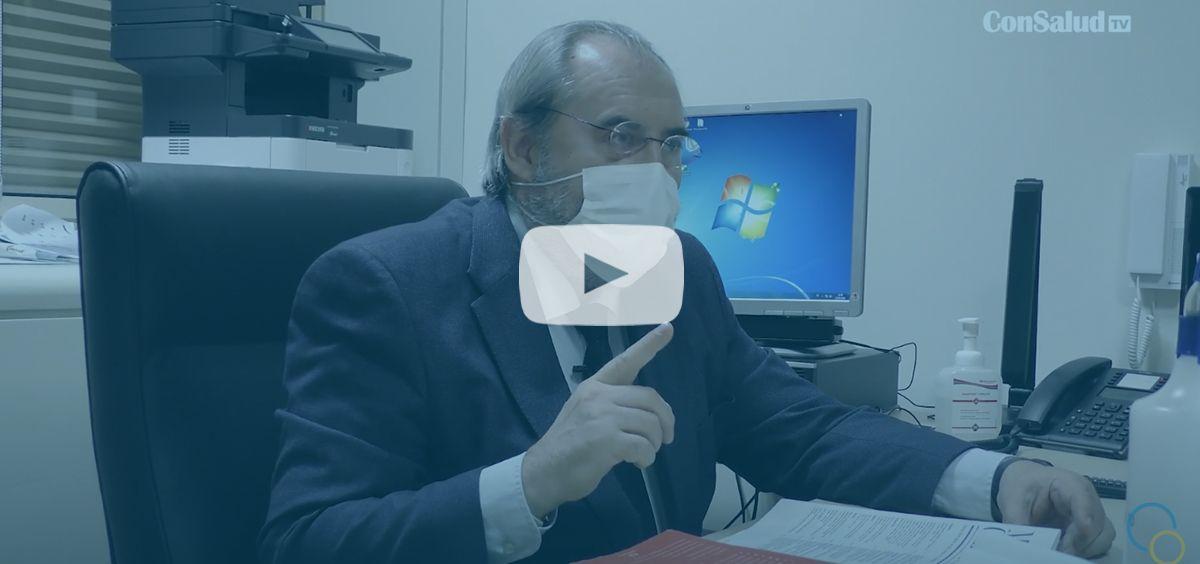 ConSalud TV entrevista a José Luis Benavente, médico del Senado.