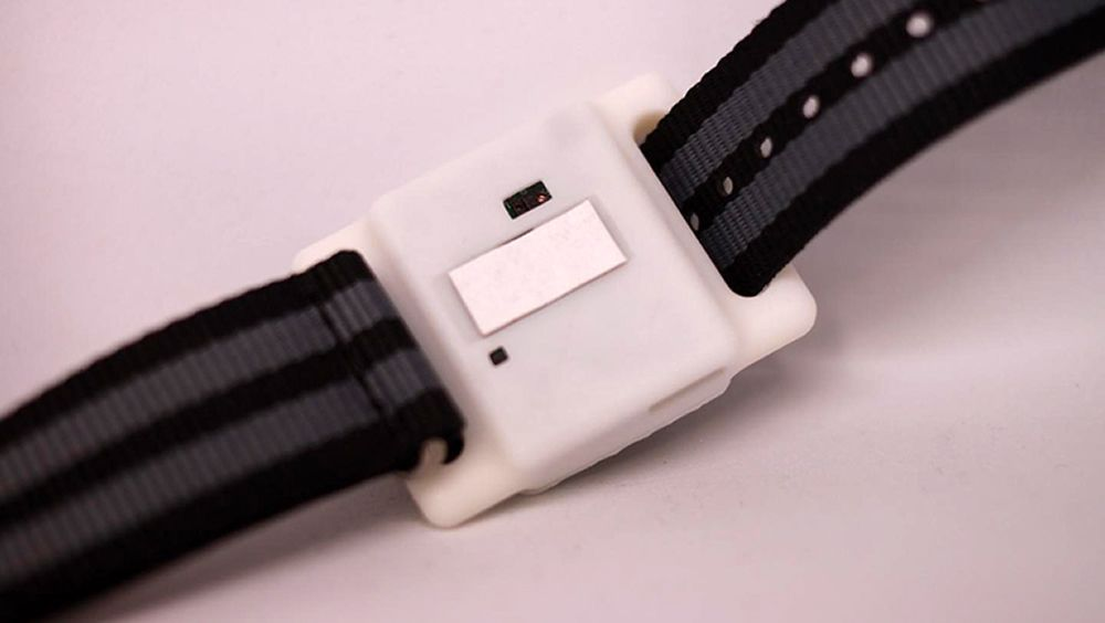 Una imagen del sensor (Foto. Universidad de Texas)