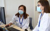 Dra. Anna Suy y Dra. Nerea Maiz (Foto. Hospital Vall d'Hebron)
