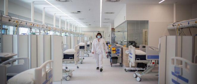 Enfermera en un hospital (Foto. David Zorrakino   Europa Press)