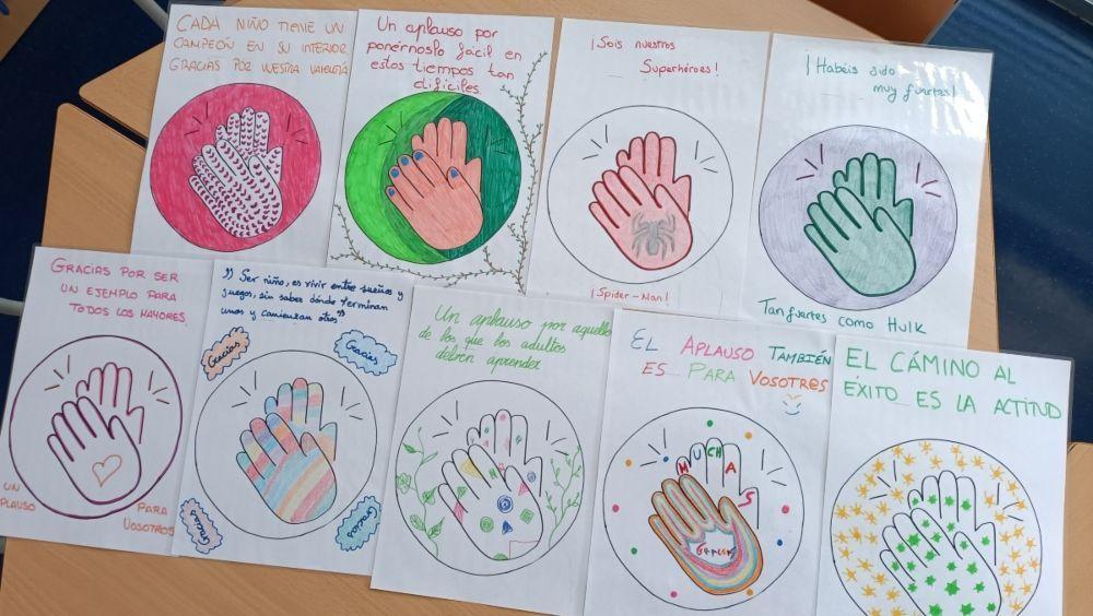 El Hospital de Fuenlabrada reconoce la colaboración de los niños