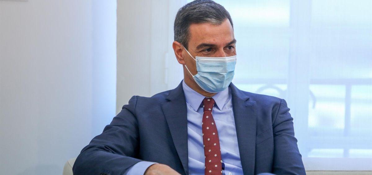 El presidente del Gobierno, Pedro Sánchez (Foto. R. Rubio POOL  Europa Press)