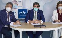 Los máximos representantes de la Fundación IDIS, durante la presentación de un informe (Foto. IDIS)