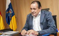 El consejero de Sanidad, Blas Trujillo (Foto. Gobierno de Canarias)