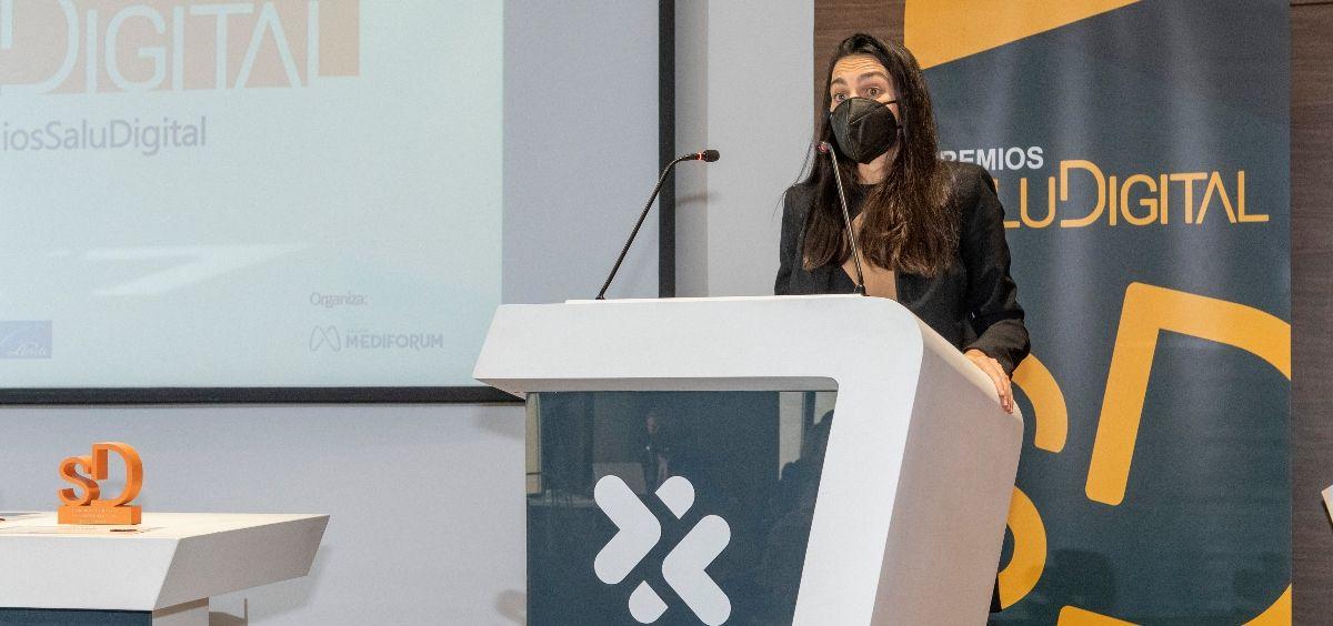 Clara Cuervo, transformation and BIOME manager de Novartis (Foto. Oscar Frutos)