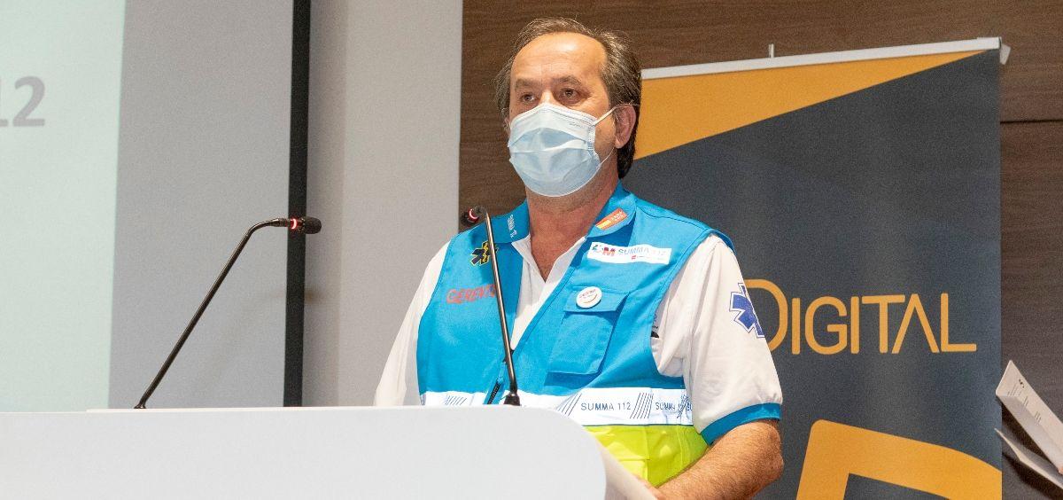 El director gerente del SUMMA 112, Pablo Busca Ostolaza. (Foto. Óscar Frutos)