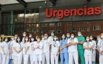 Médicos del Servicio de Urgencias del Hospital Clínico San Carlos (Foto. ConSalud)