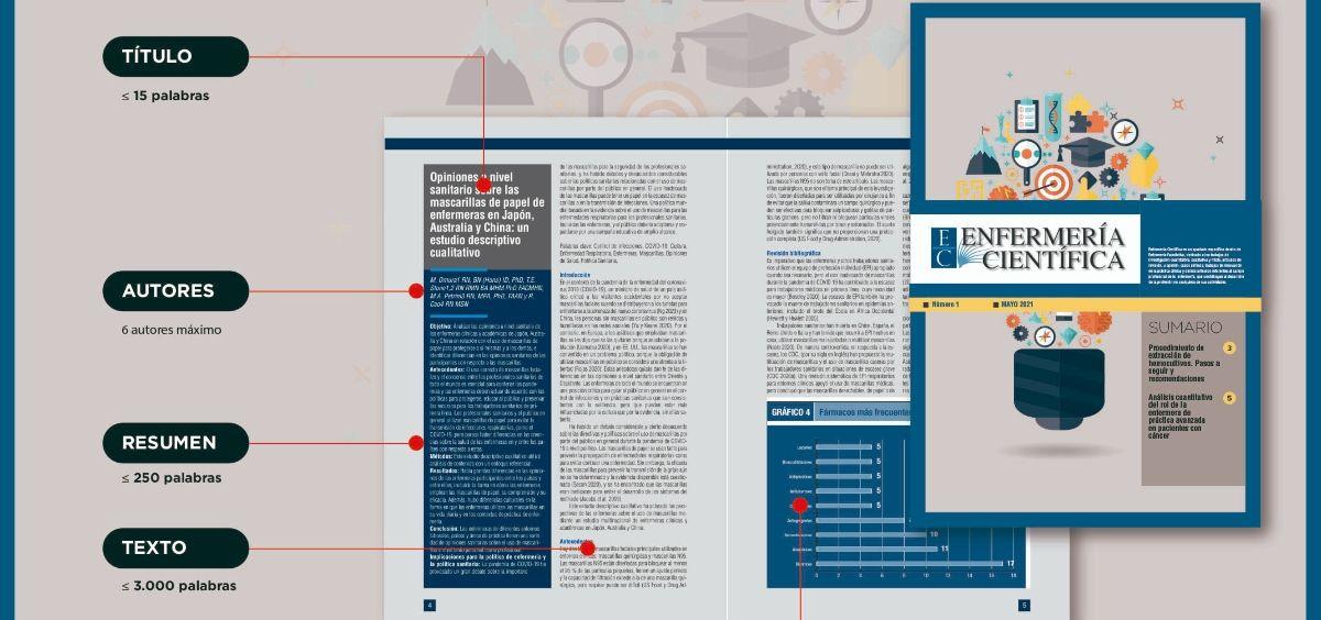 Nueva sección de la revista 'Enfermería Científica' del CGE