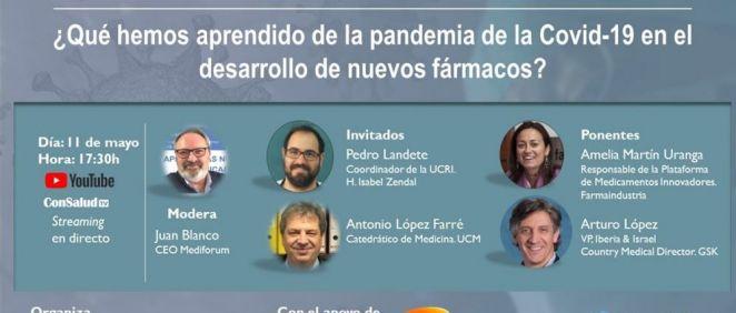 Programa del segundo taller (Foto. ConSalud.es)