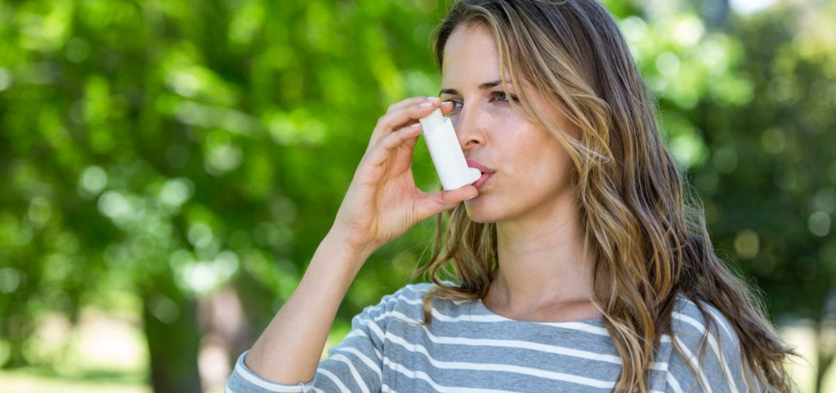 Mujer con asma (Foto. Ruber Internacional)