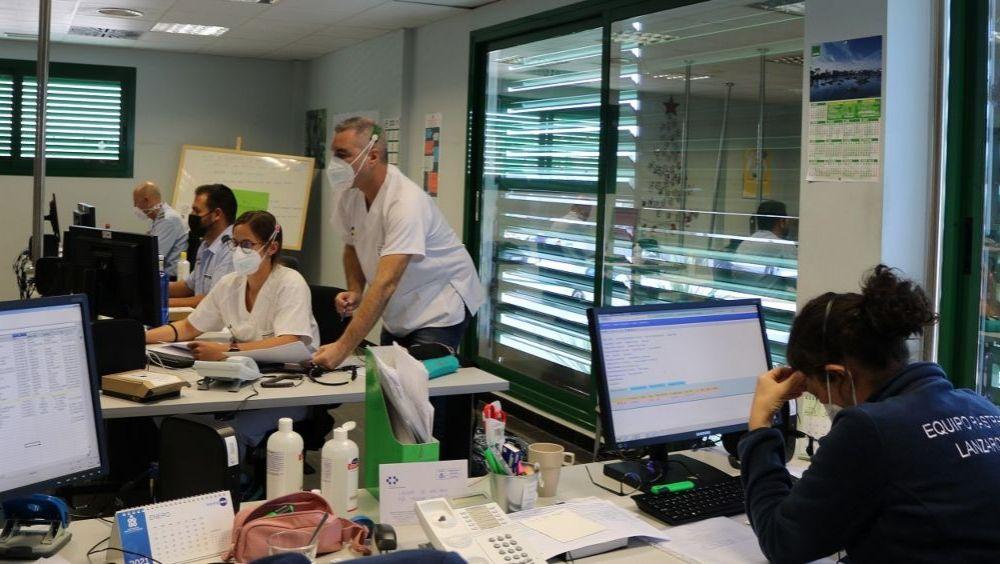 Un equipo de rastreadores Covid-19 trabajando en Lanzarote (Foto: Gobierno de Canarias)