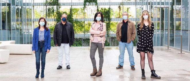 Investigadores de la UJI (Foto. Damián Llorens)