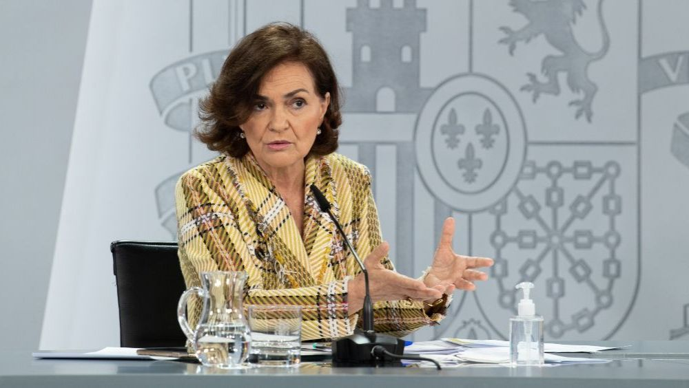 Carmen Calvo, vicepresidenta primera del Gobierno (Foto: Pool Moncloa / Borja Puig de la Bellacasa)