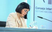 La ministra de Sanidad, Carolina Darias (Foto. EUROPA PRESS R.Rubio.POOL )