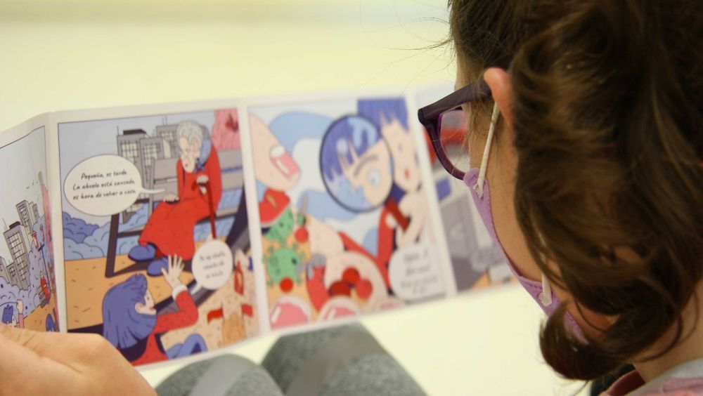 El grupo Ribera edita un comic sobre la higiene de manos