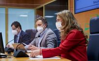 La consejera de Salud del Gobierno Vasco, Gotzone Sagardui (Foto. Asier Bastida Parlamento vasco)