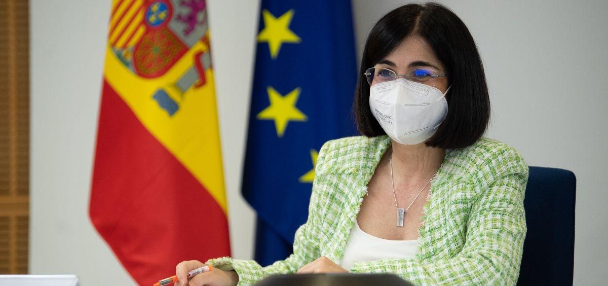 Carolina Darias, ministra de Sanidad. (Foto. Pool Moncloa y Borja Puig de la Bellacasa)