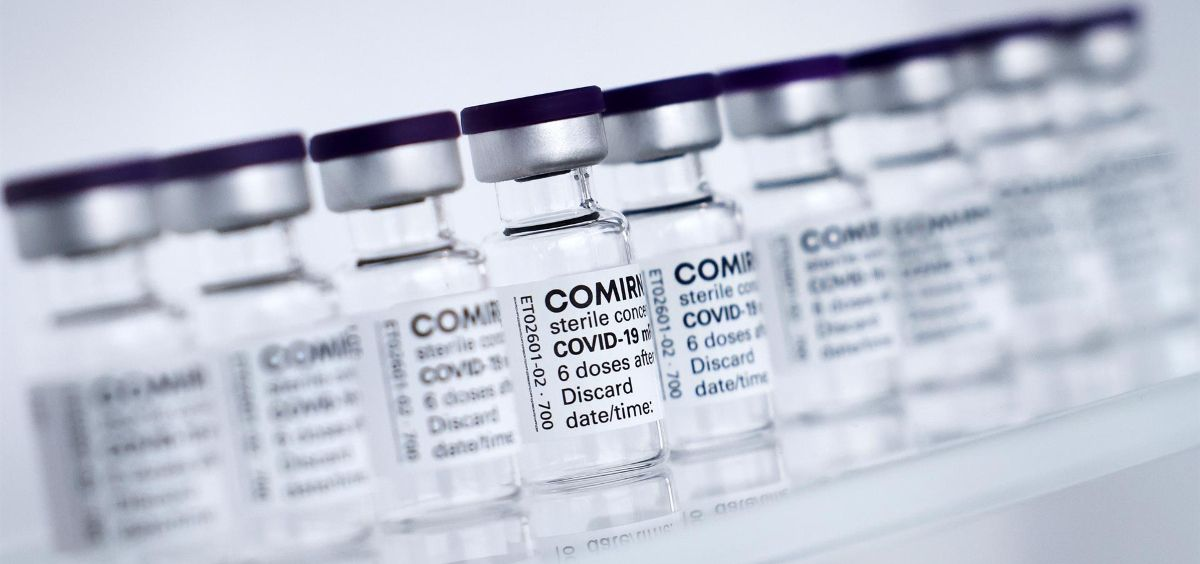 Madrid espera la decisión de la EMA para administrar la tercera dosis (Foto. Christian CharisiusdpaPooldpa)