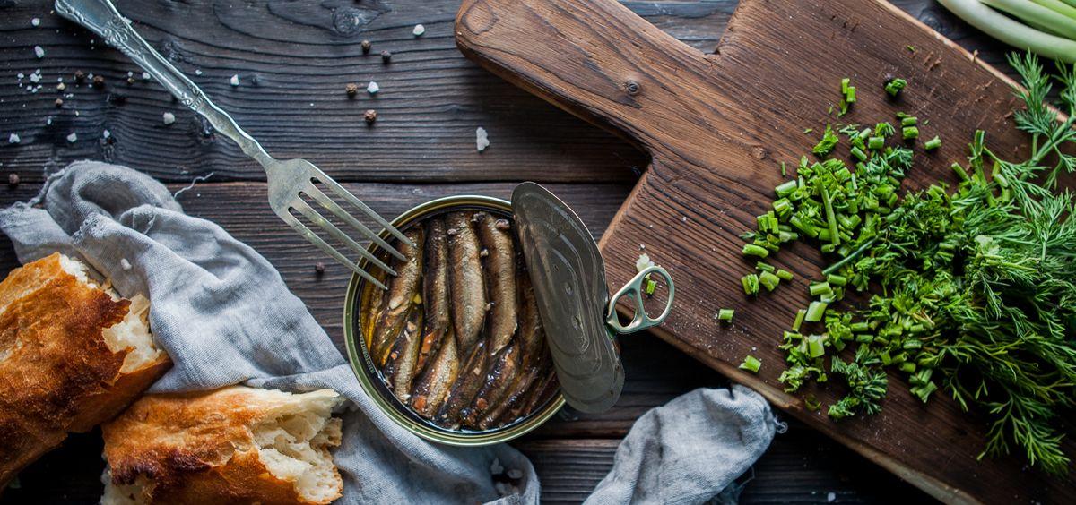 Sardinas en lata (Foto. Freepik)