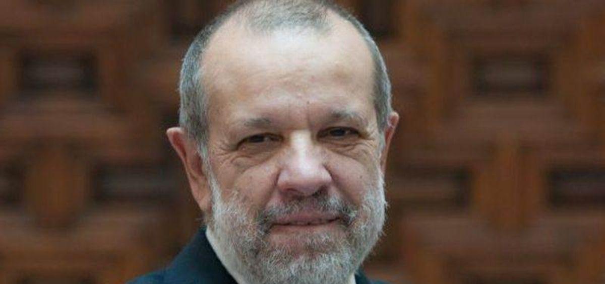 El Defensor del Pueblo, Francisco Fernández Marugán. (Foto. El Defensor del Pueblo)