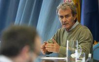 El director del Centro de Alertas y Emergencias Sanitarias (CAES), Fernando Simón. (Foto. EUROPA PRESS/A.Ortega.POOL)