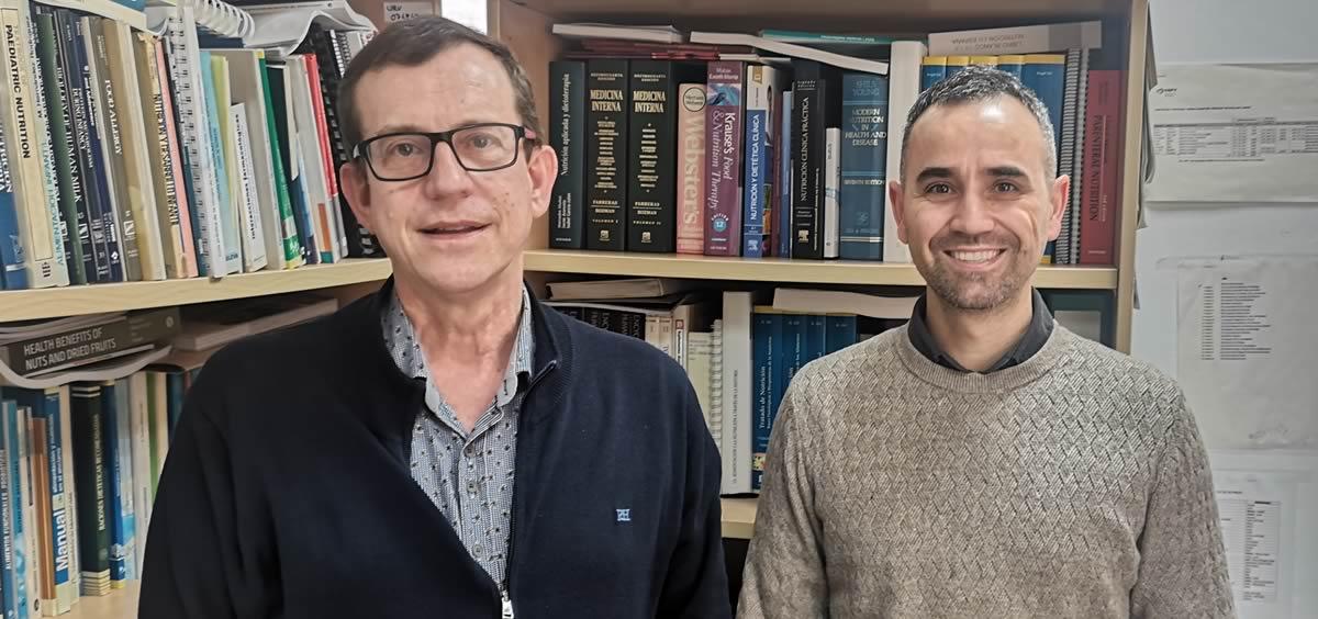 Jordi Salas y Andrés Díaz desde la Universidad Rovira i Virgili (URV) (Foto. ConSalud)