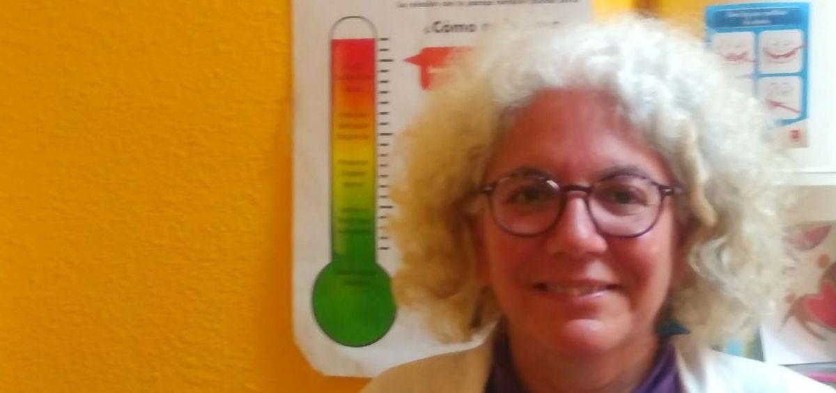Mar Gimena, médica de Familia del centro de Salud de Buitrago de Lozoya y experta en temas de género y salud.