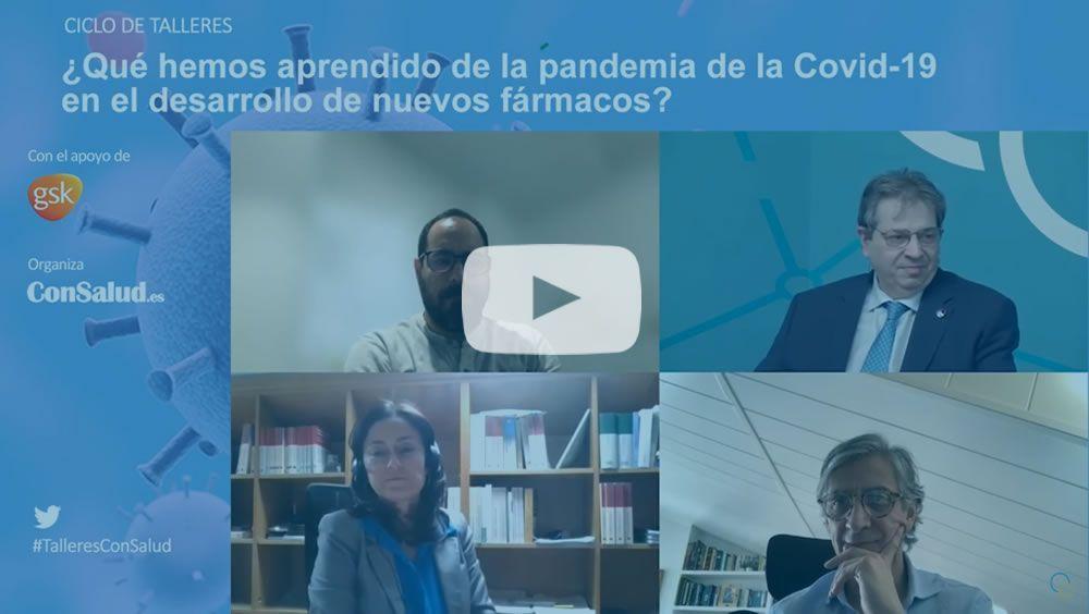 Un instante del coloquio (Foto. ConSalud.es)