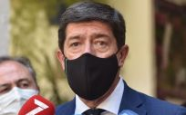 El vicepresidente de la Junta de Andalucía Juan Marín. (Foto. JUAN LÓPEZ CEPERO CS)