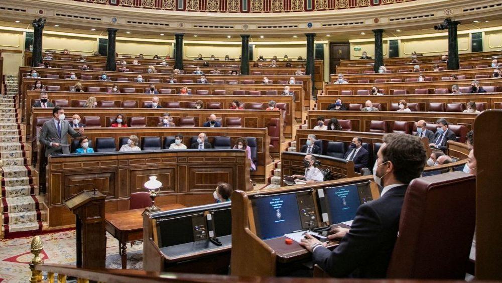 El pleno del Congreso de los Diputados durante una sesión de control al Gobierno (Foto: Congreso)
