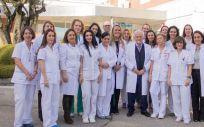 Parte del equipo de LUDLM (Foto. Hospital Ruber Internacional)