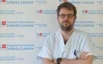 El nefrólogo Fabio Procaccini (Foto. Hospital Infanta Leonor)
