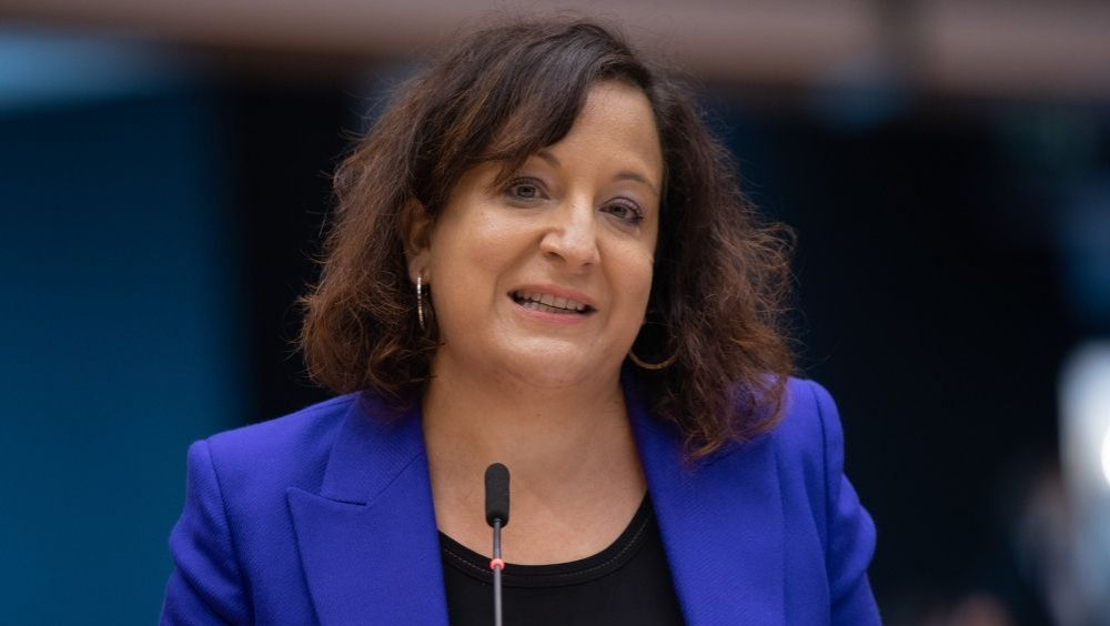 Iratxe García, presidenta del grupo Socialistas y Demócratas (Foto: Parlamento Europeo)