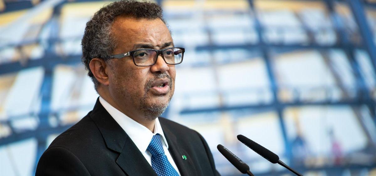 Tedros Adhanom Ghebreyesus, Director General de la OMS (Foto. Bernd von Jutrczenka dpa )