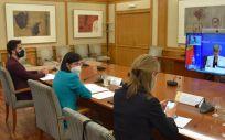 La Ministra de Sanidad, Carolina Darias (Foto. Ministerio de Sanidad)