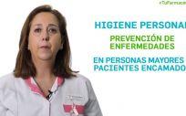 Sara Yanguas, vocal de Ortopedia del Colegio Oficial de Farmacéuticos de Granada