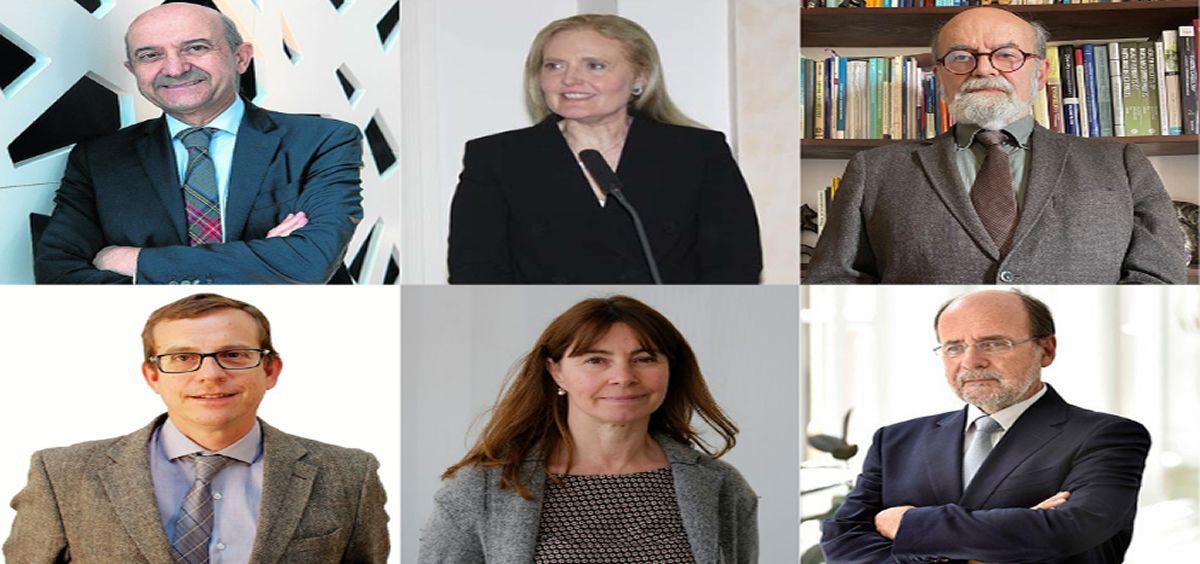 Los seis investigadores del CIBEROBN que componen el Comité Directivo de PREDIMED (Foto. ConSalud)
