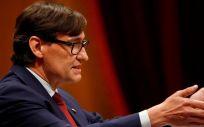 Salvador Illa, portavoz del PSC en el Parlament de Cataluña (Foto: Parlament)