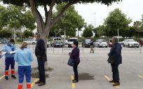 Personas esperan para ser vacunados frente a la Covid 19 (Foto. Álex Zea   Europa Press   Archivo)