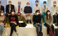 Alumnas en prácticas (Foto. Hospital La Princesa)
