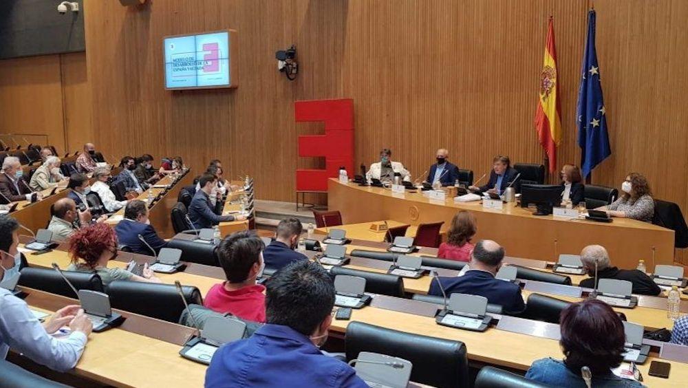 Presentación del 'Modelo de Desarrollo de la España Vaciada' en el Congreso (Foto: España Vaciada)