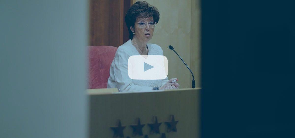 La directora general de Salud Pública en la Comunidad de Madrid, Elena Andradas. (Foto. Comunidad de Madrid)